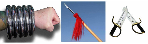Kung Fu Training Weapons