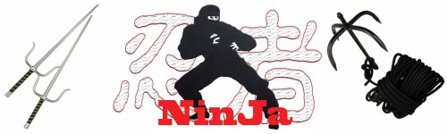 Ninja Training Equipment and Accessory