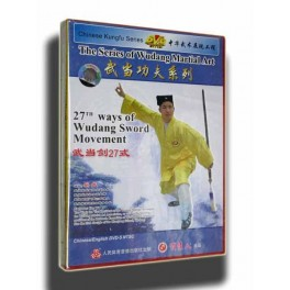 Wu Dang M-A-27th ways of Wudang Sword Movement