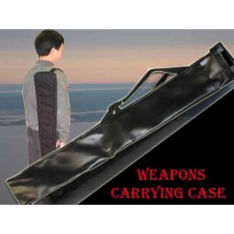 "Weapons carrying case 60""x4.5"" (leatherette)--Jo case"