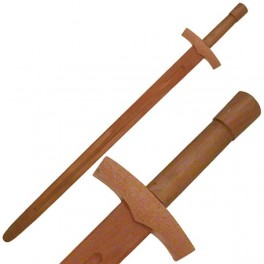 Wooden Training Long Sword 38.5 Inches