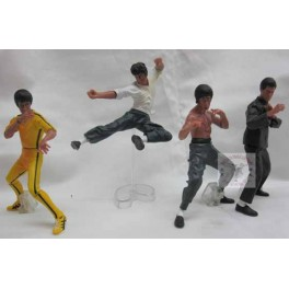 Bruce Lee Kung Fu  PVC Action Collection Figures (10cm) set of 4 pcs