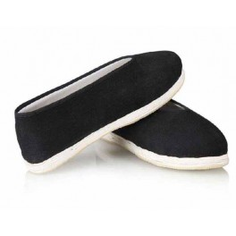 V Shape Cotton kung fu shoe with extra thick cotton sole