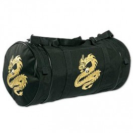 Deluxe Sports Bag - Dragon w/ Yin & Yang