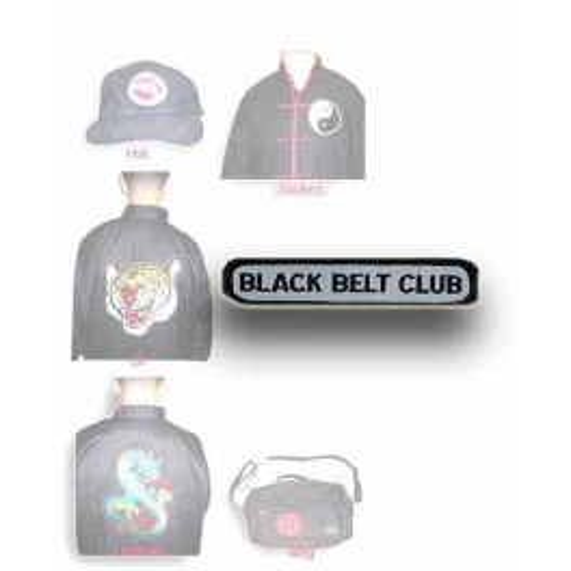 "Patch Black belt 4"""